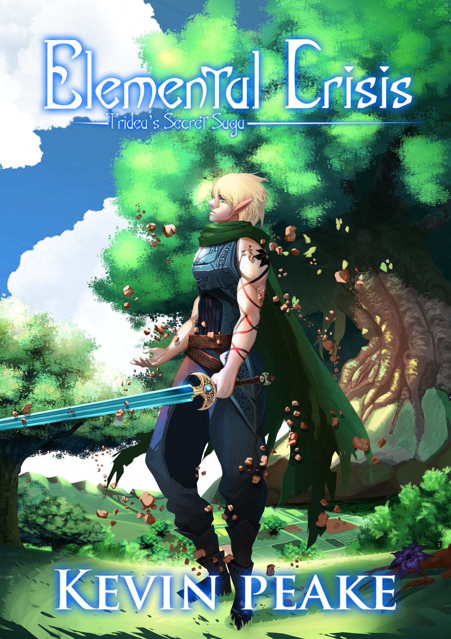 Tridea's Secret Saga #2 - Elemental Crisis